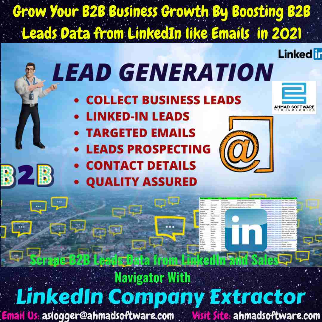 LinkedIn Scraper - B2B Lead Generation Strategy (That Work in 2021)