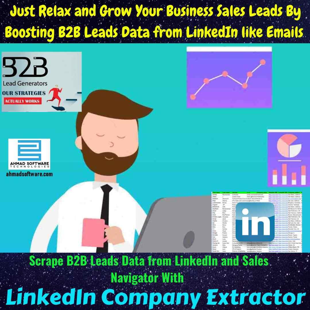 LinkedIn Scraper - LinkedIn is the best site for B2B leads in 2021