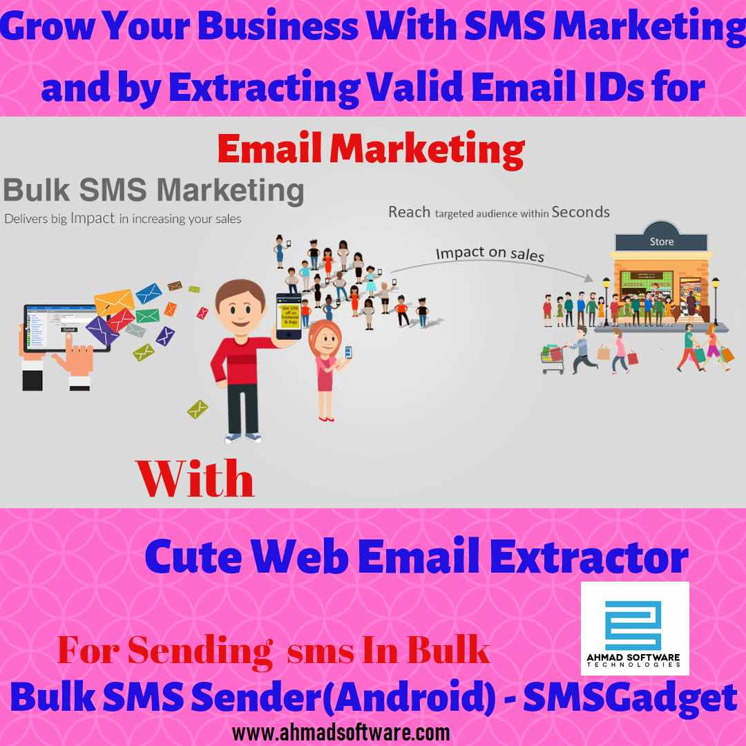 SMS and email marketing business