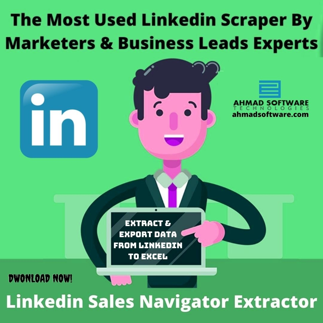 The Most Used Linkedin Scraper By Marketers & Business Leads Experts