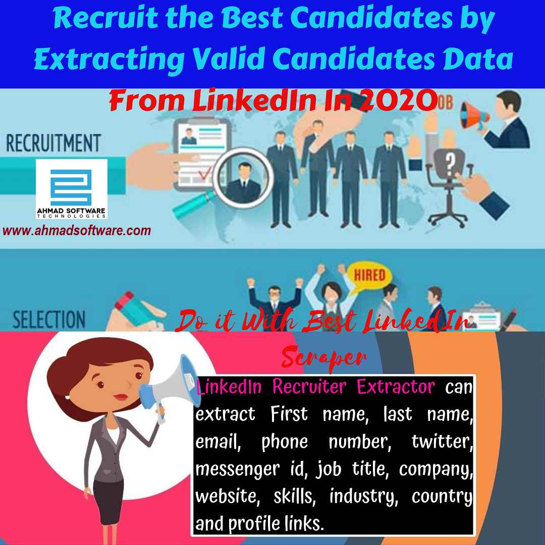 Recruit candidates from LinkedIn for the company - LinkedIn Scraper