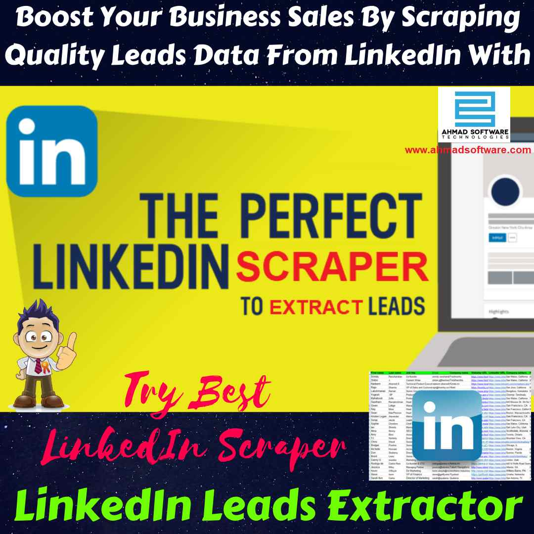 Entrepreneurs Can Successfully Get Sales Leads Data from LinkedIn