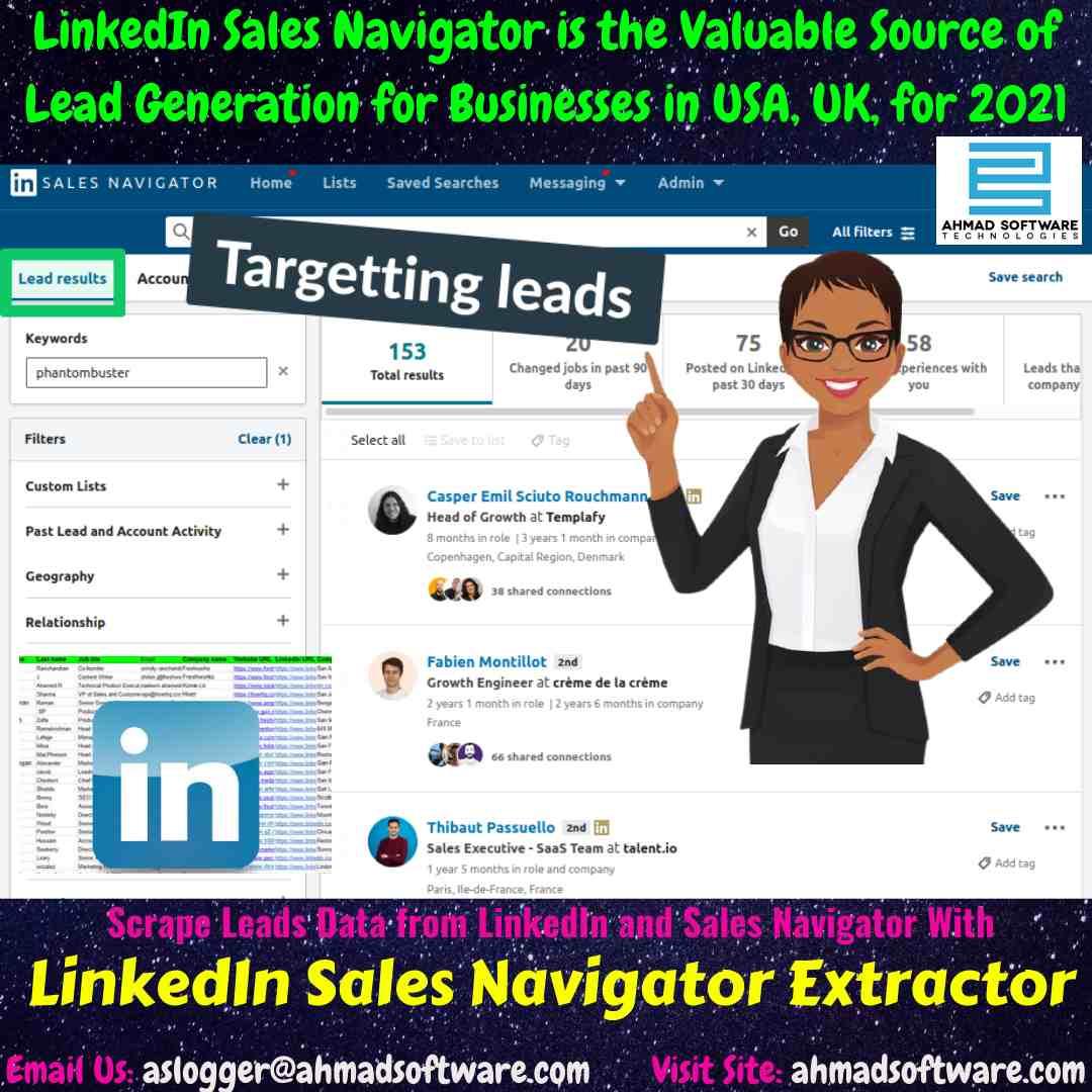 Sales Navigator Scraper