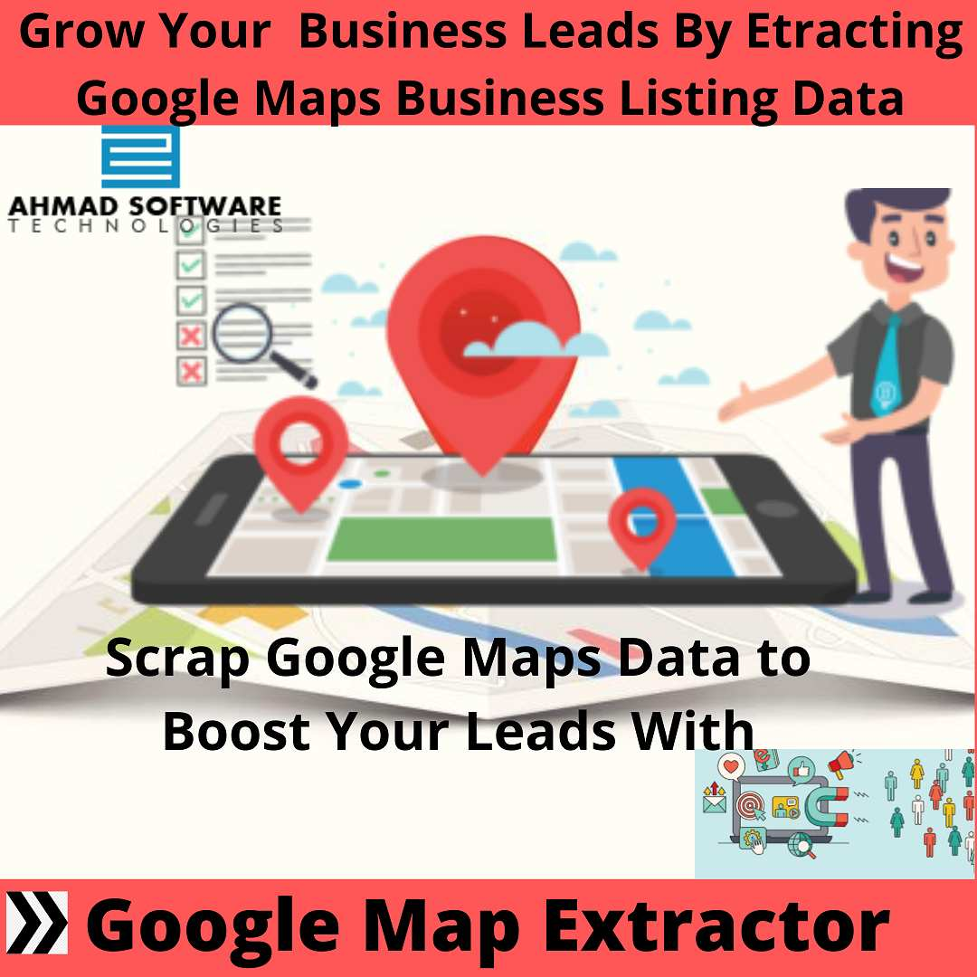 Scrap Google Maps to extract contact information with Google Map Extractor