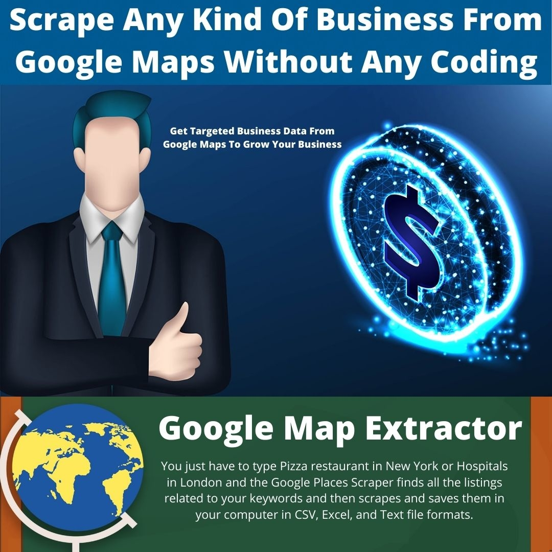 Scrape Any Kind Of Business From Google Maps With Google Map Extractor