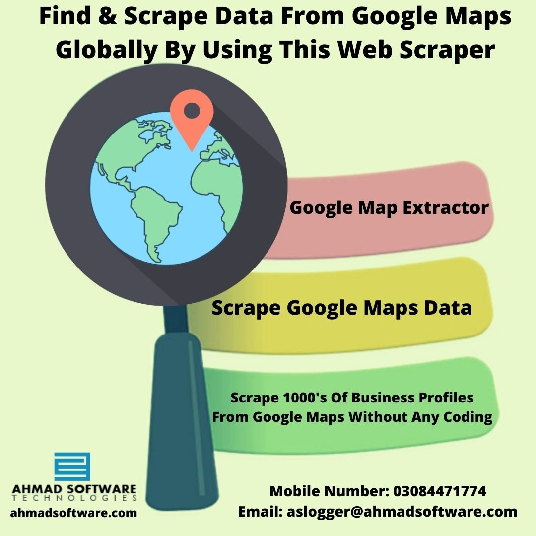 Scrape Any Business Profile Data From Google Maps
