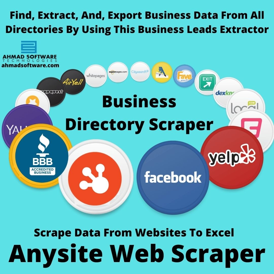 Scrape Business Data From All Directories With Anysite Scraper