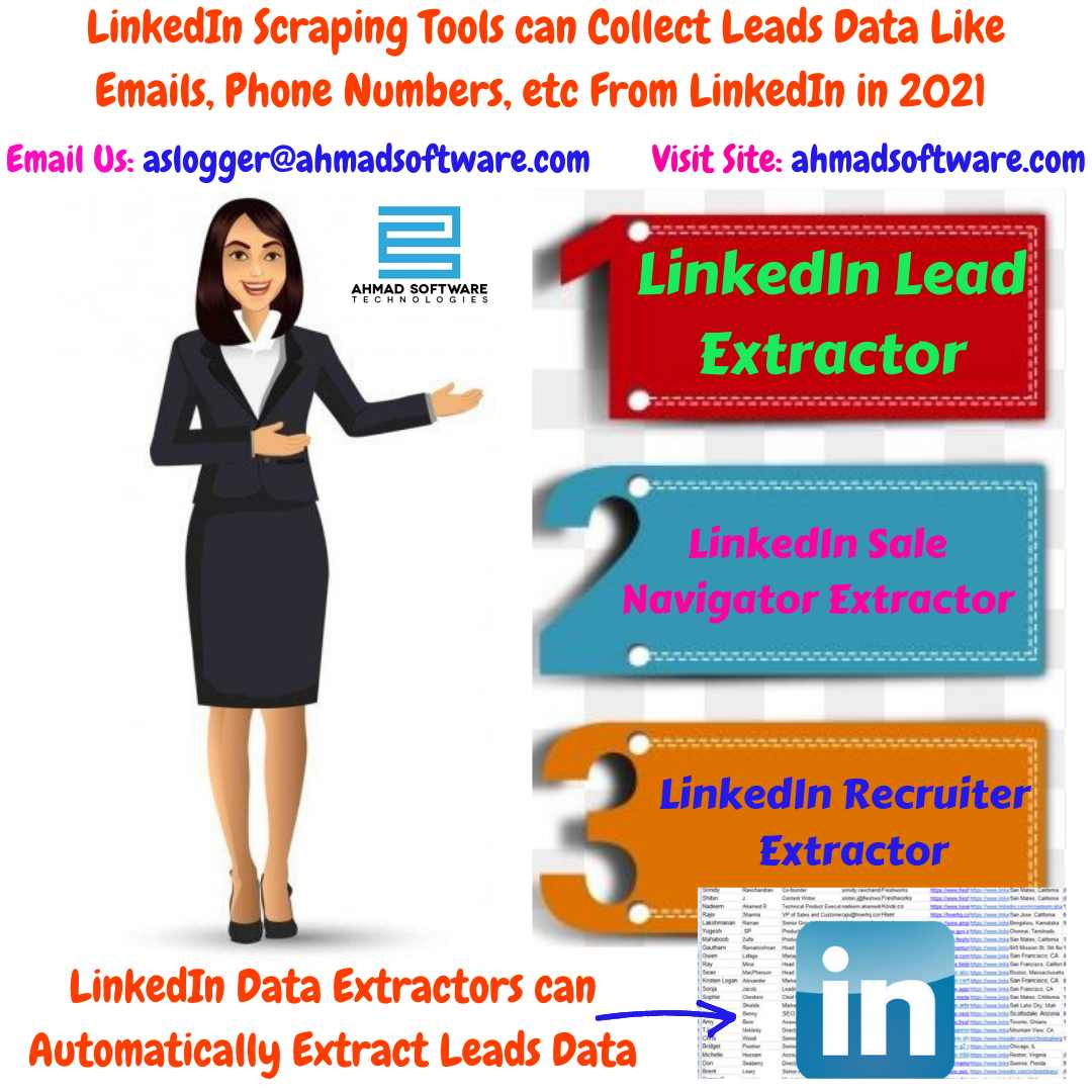 Scrape Consulting Leads or Business Data with LinkedIn Scraping Tools