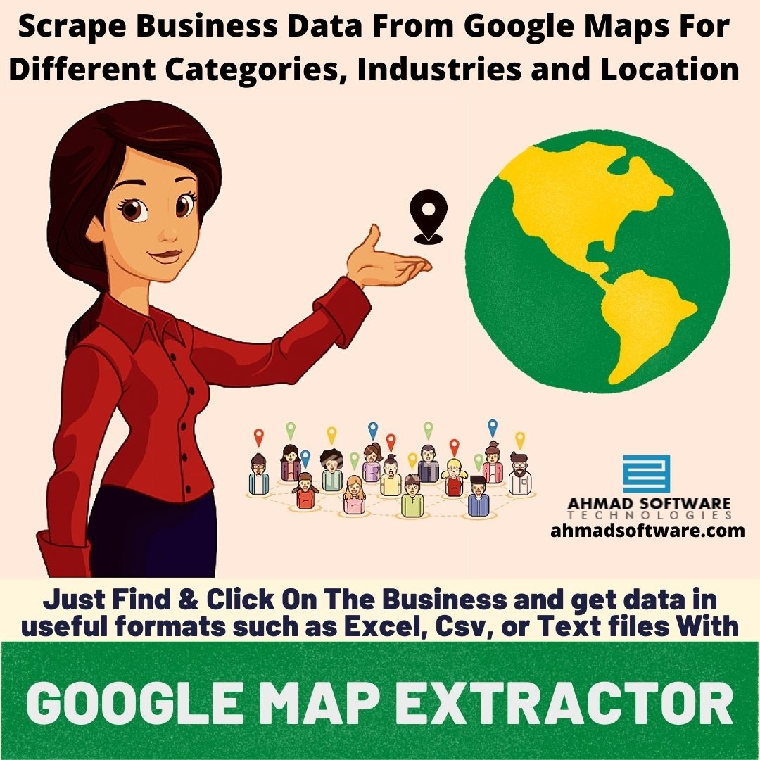 Scrape Business Data From Google Maps For Different Catagories and Location