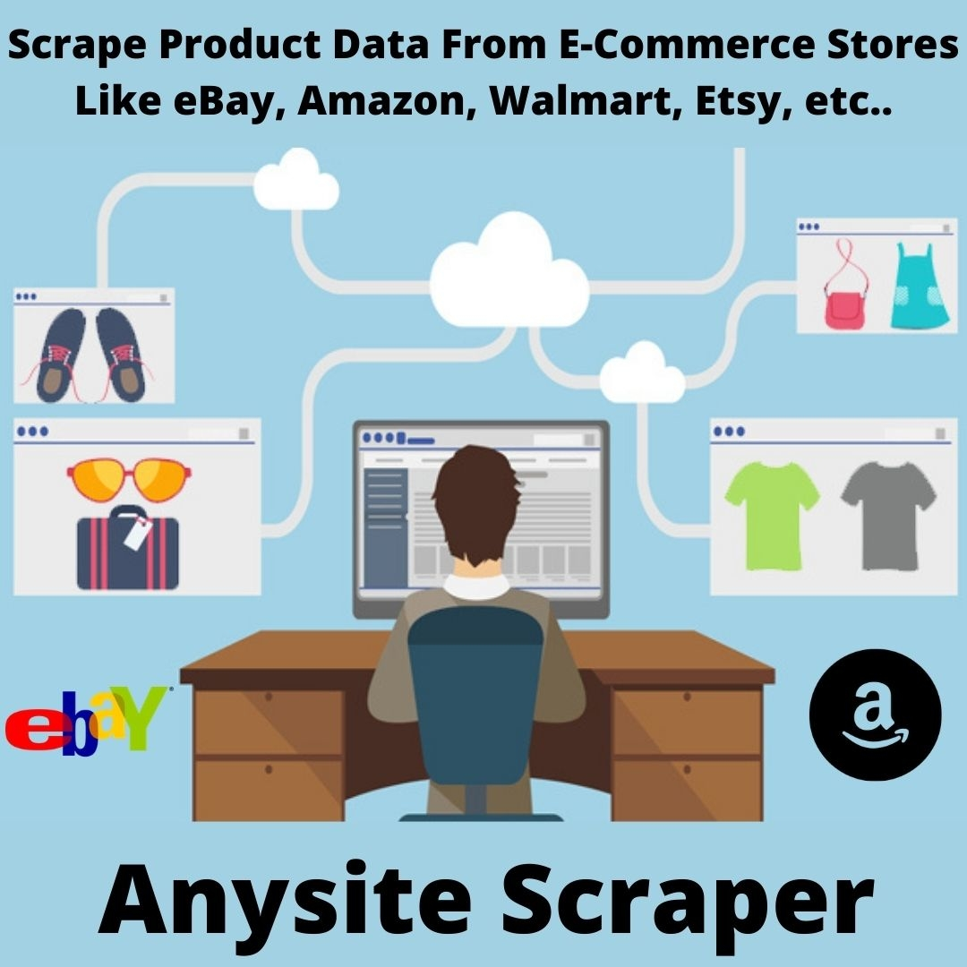 Scrape Data From E-Commerce Stores With Anysite Scraper Without Coding