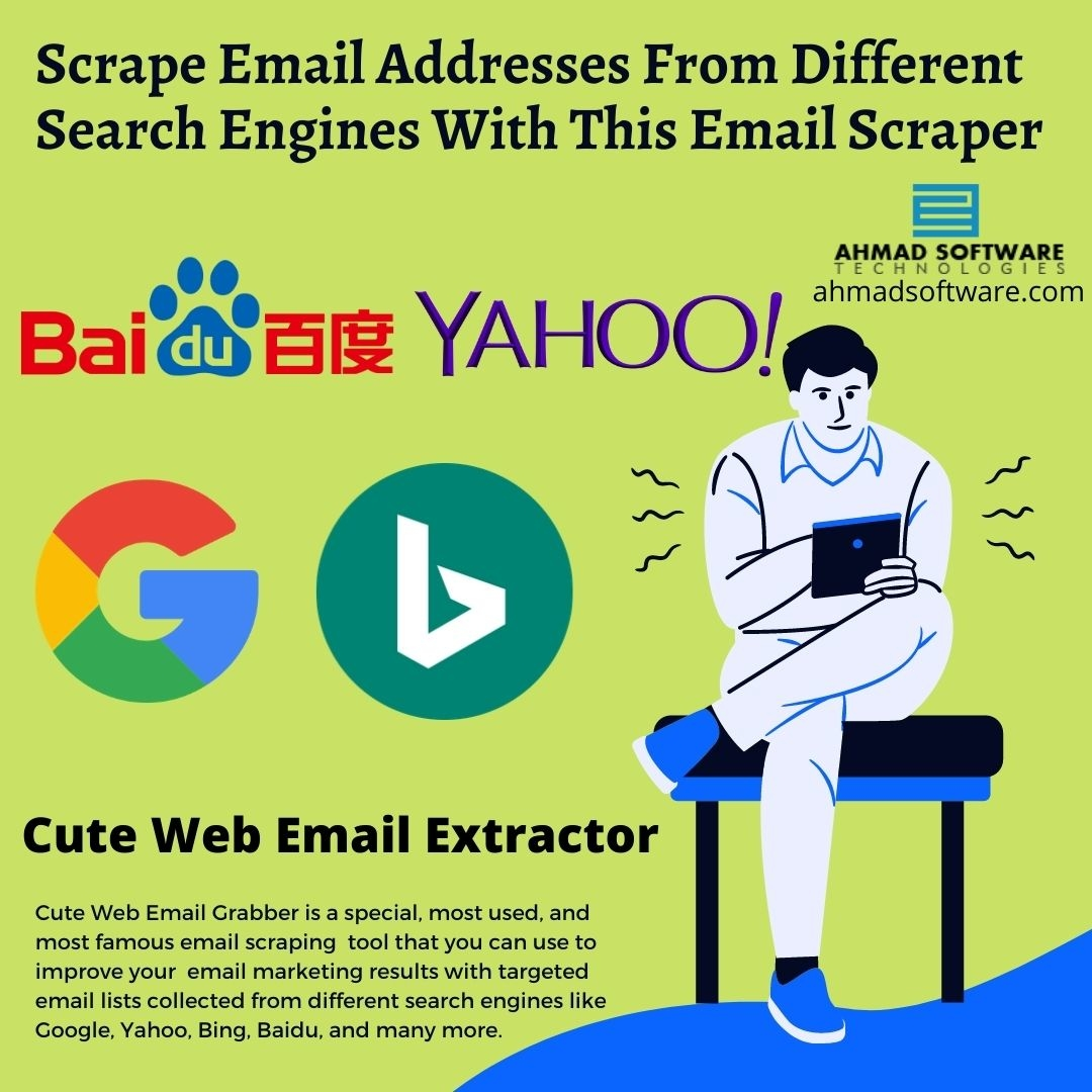 Scrape Email Addresses With Email Extractor Using Search Engines