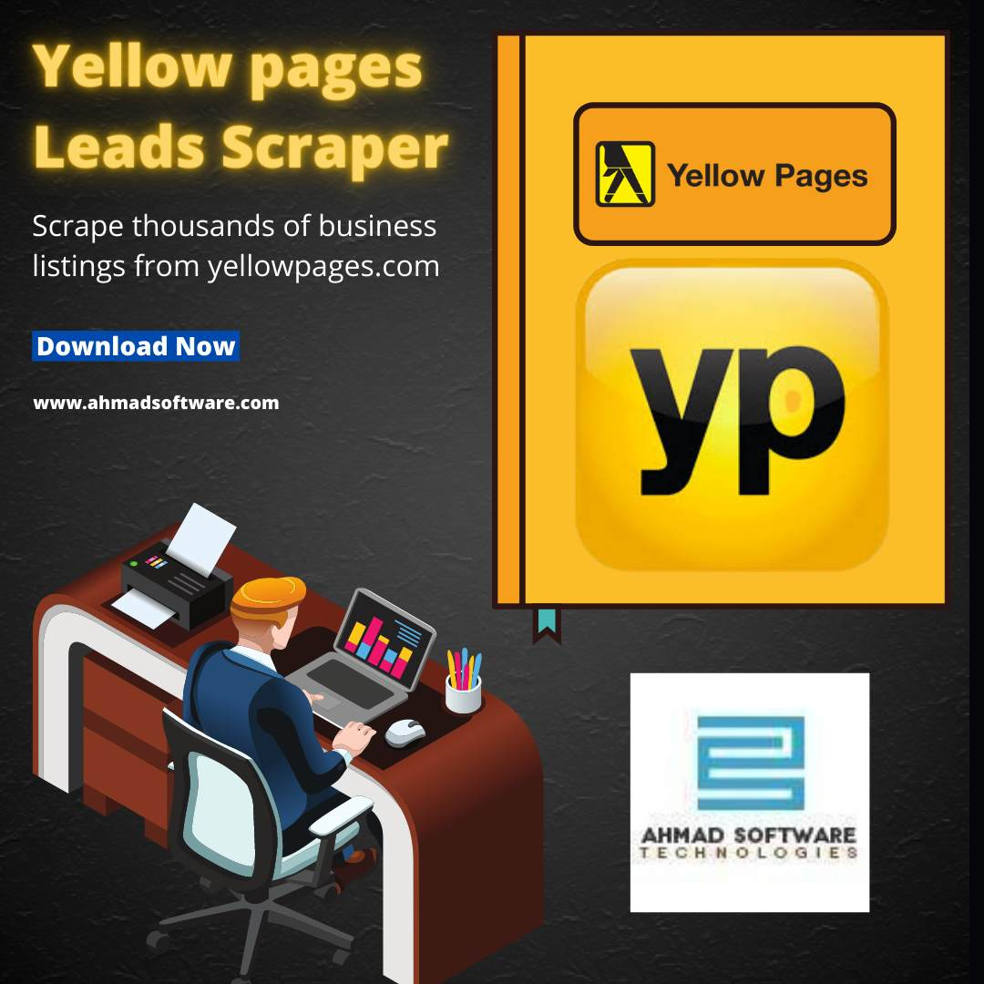 Scrape thousands of business listings from yellow pages.