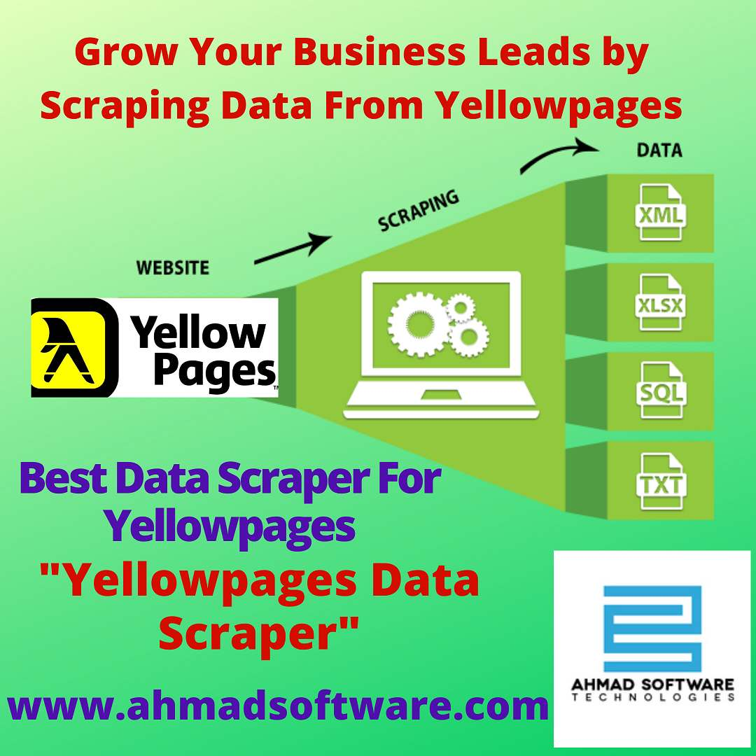 Scrape data from Yellowpages sites with YellowPages Data Scraper