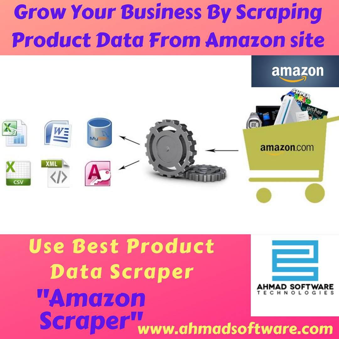 Scrape product data from amazon site using Amazon Data Scraper