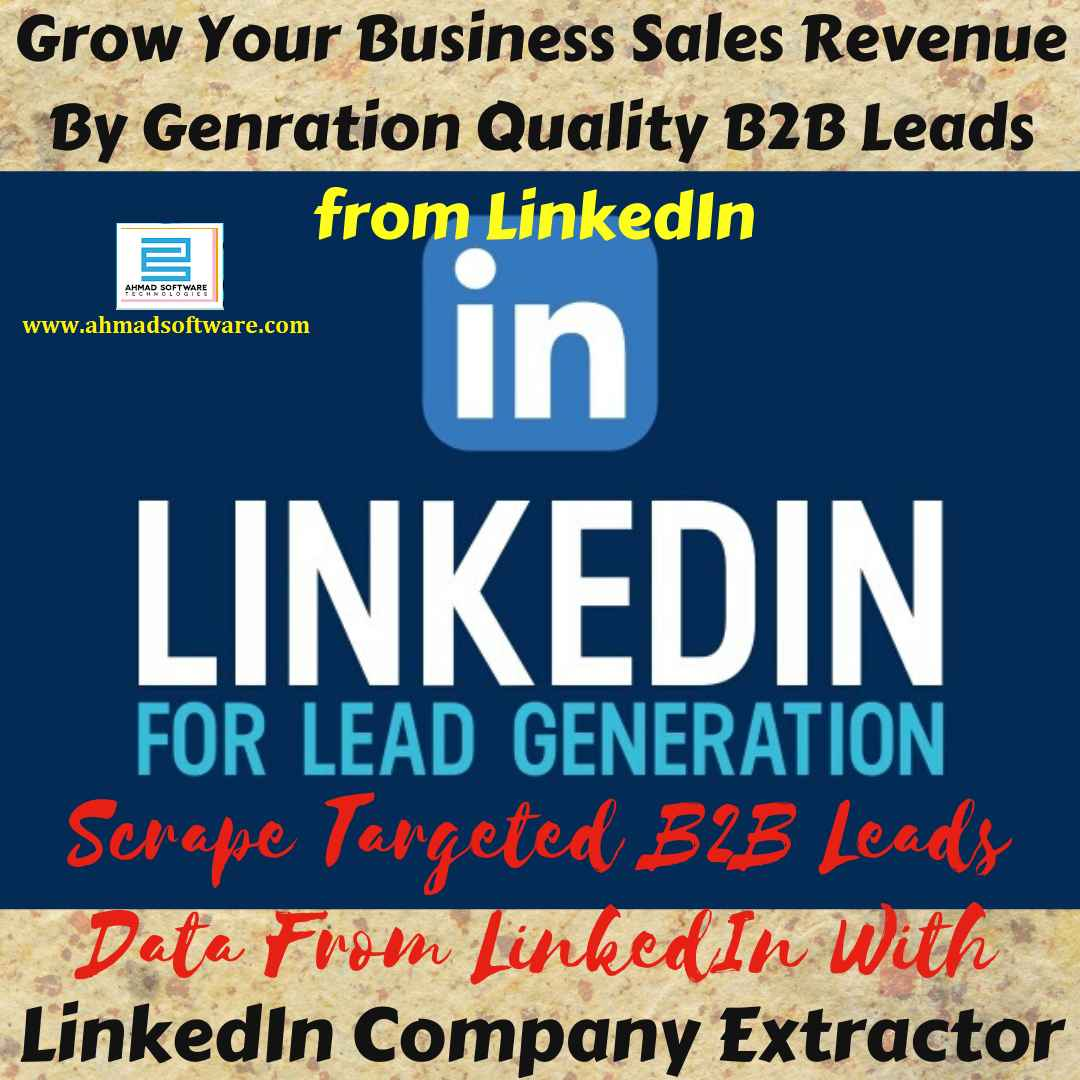 Get Best LinkedIn Scraper that prioritizes only B2B sales leads