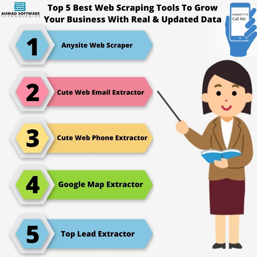 The Smart Web Scraping Tools To Grow Your Business With Updated Database