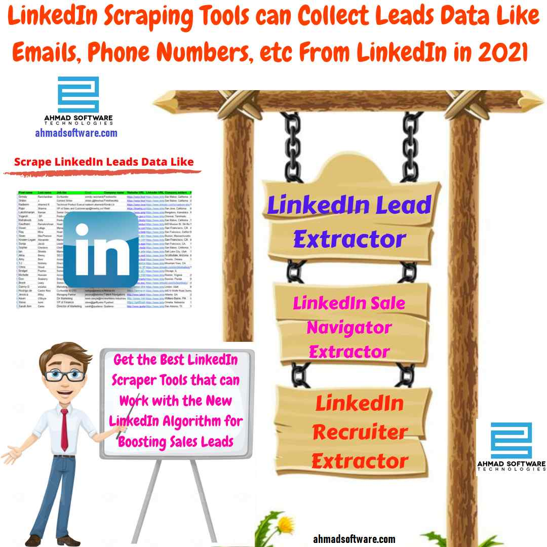 LinkedIn scraping tools that work with the new LinkedIn algorithm