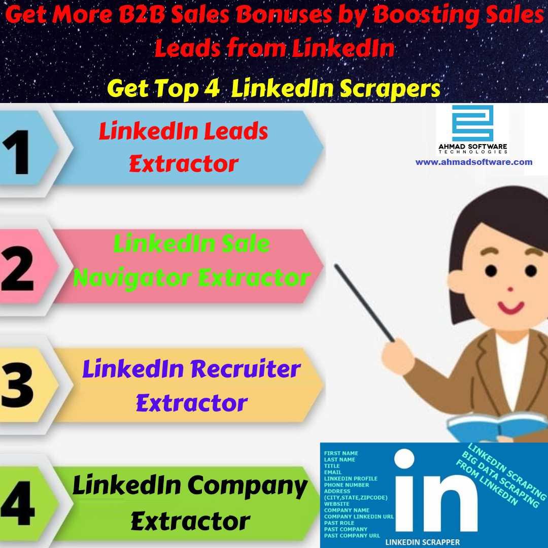 Top 4 Best LinkedIn Scraper Tools for Boosting Sales Leads