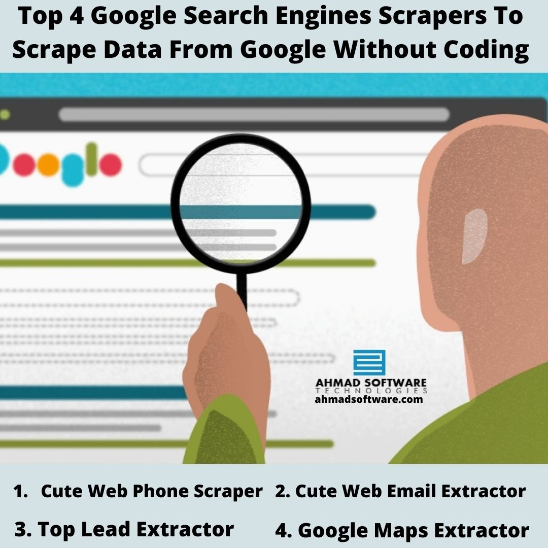 Top 4 Google Scrapers To Scrape Data From Google Without Coding