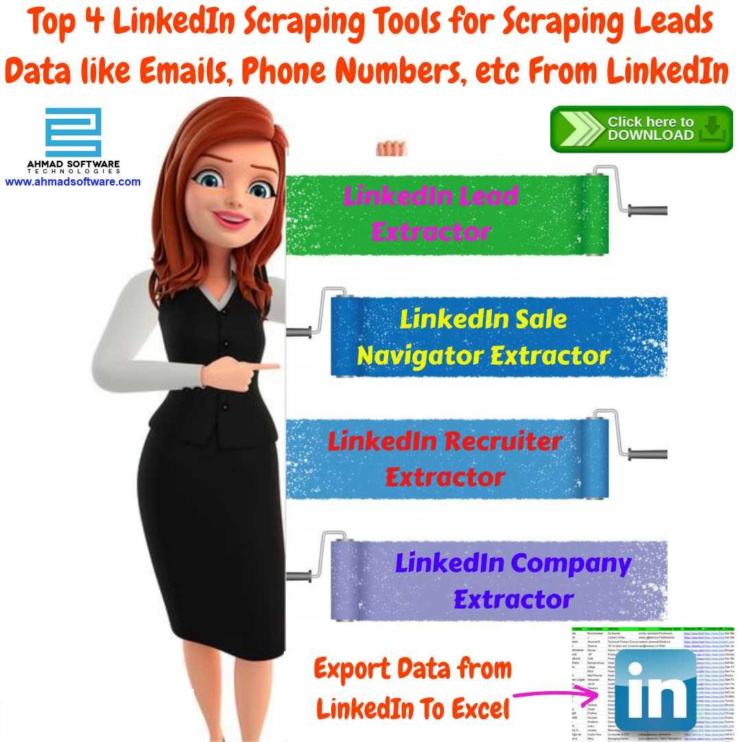 Top LinkedIn Data Scraper