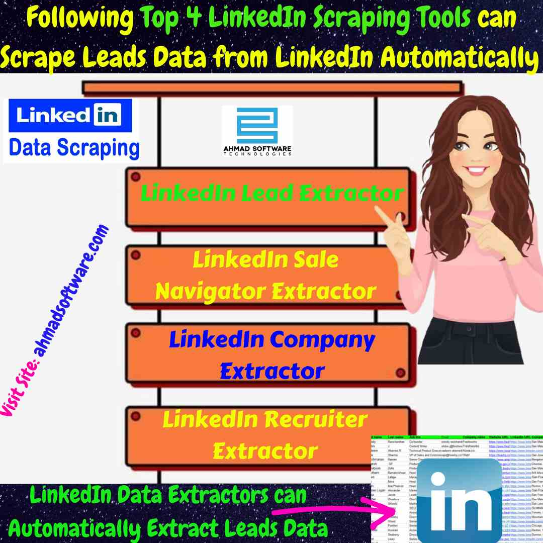 Get Top 4 Best LinkedIn Scraping Tools - Try Demo