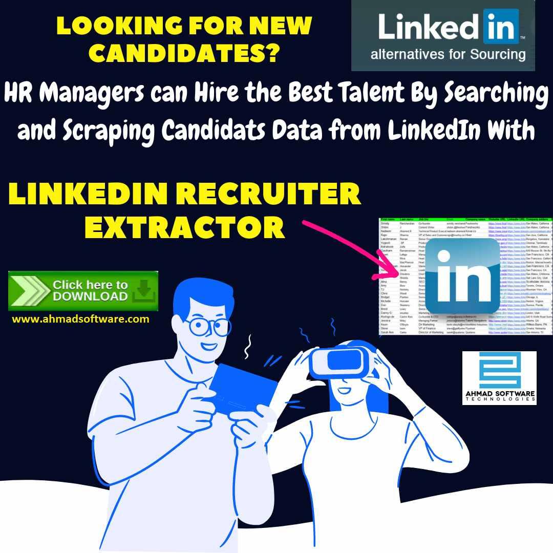 LinkedIn Scraper - LinkedIn Recruiting