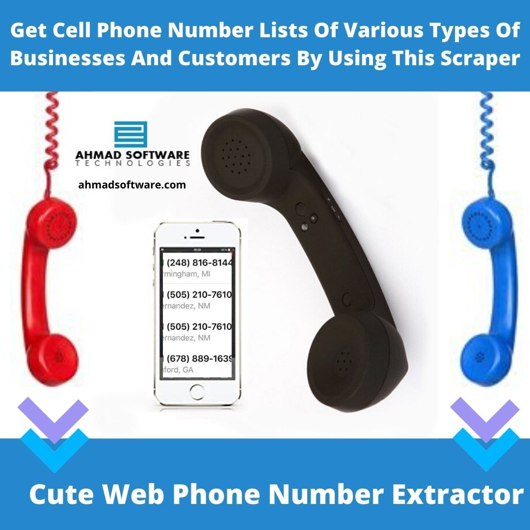 Get Cell Phone Number Lists Of Various Types Of Businesses