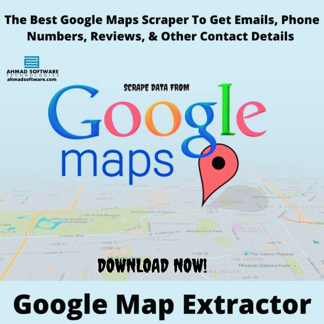 The Best Web Scraper For Google Maps For Pulling Emails & Phone Number