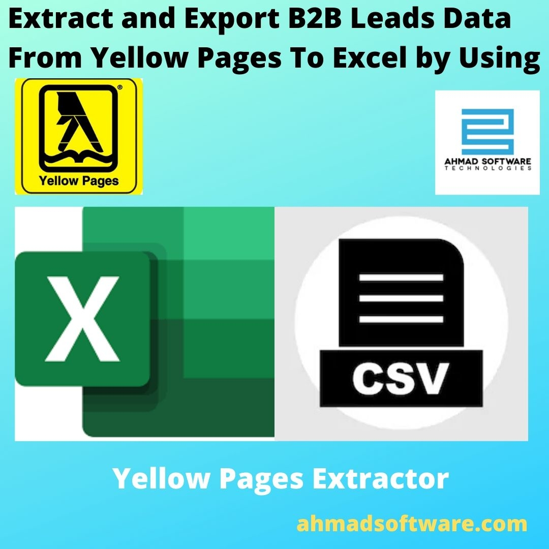 Yellow Pages to Excel