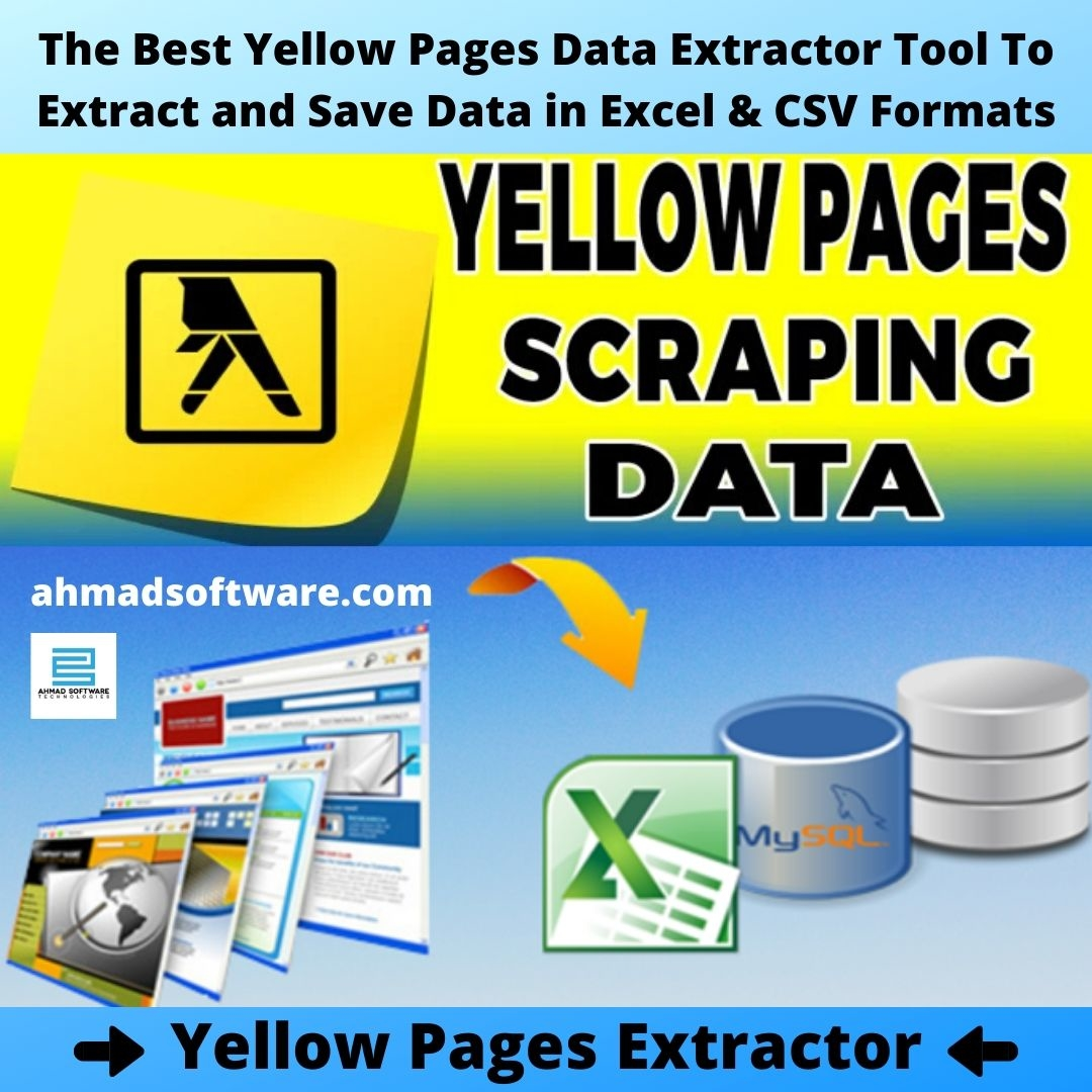 Scrape Yellow Pages Listings
