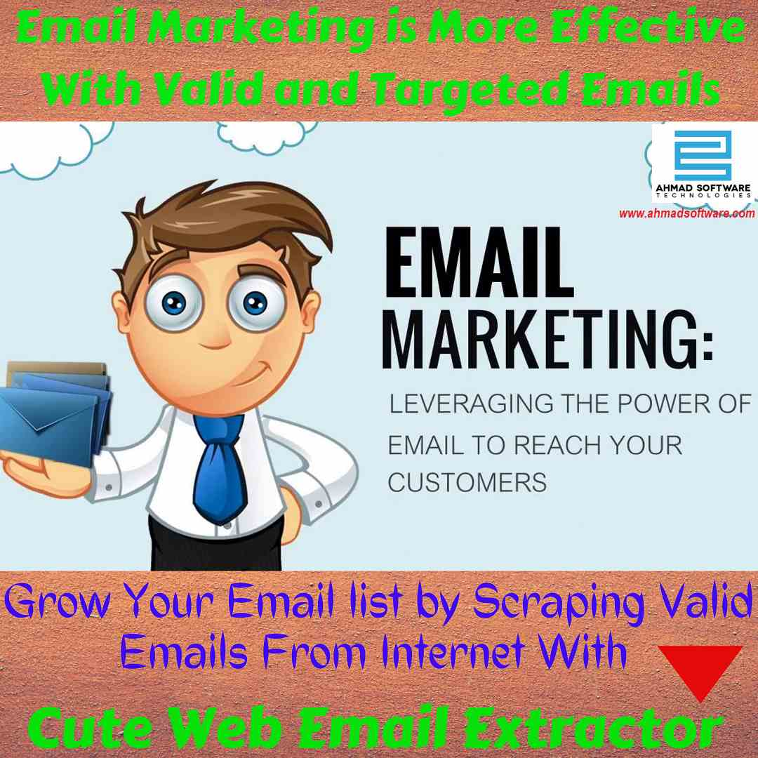 Email marketing is effective With Emails - Best Email Extractor