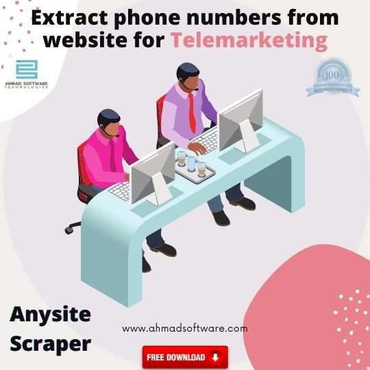 How to extract phone numbers from website- Anysite Scraper