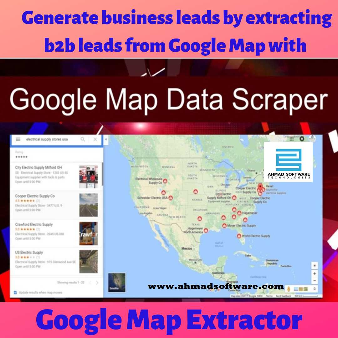 extract data from Google Maps?