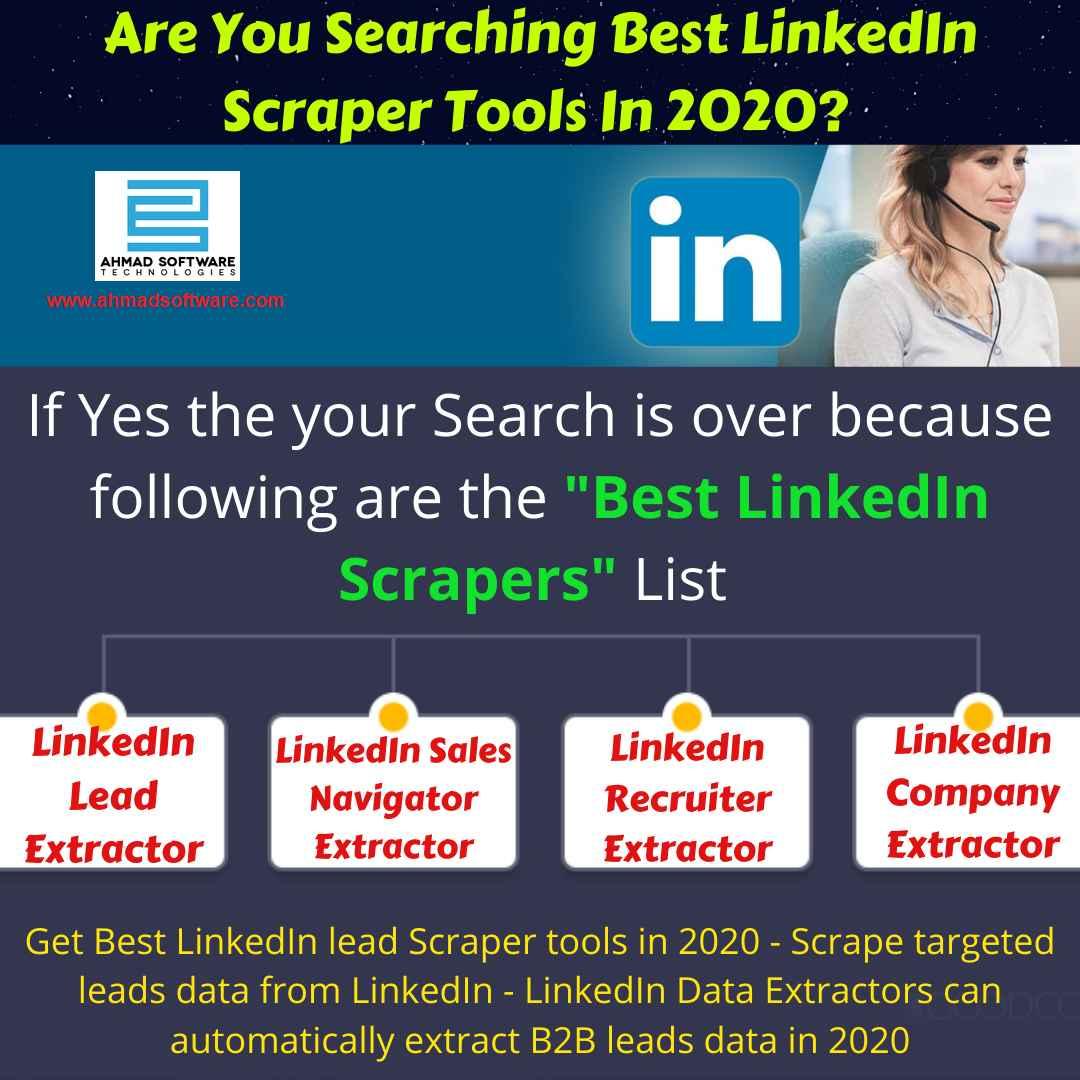 Best LinkedIn lead Scraper tools in 2020 - LinkedIn Leads Finder