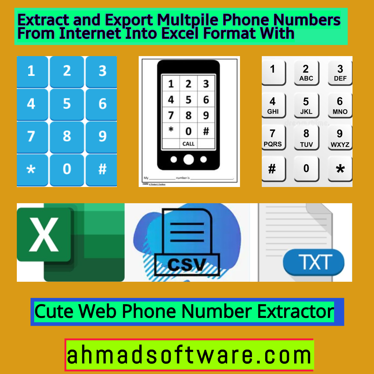 extract multiple number