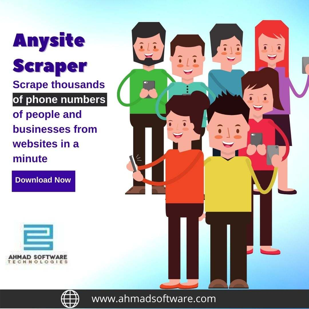 How to scrape phone numbers of people from Websites